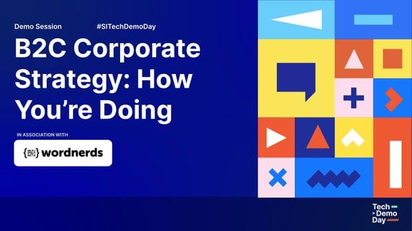 Wordnerds x SI Labs webinar - B2C Corporate Strategy