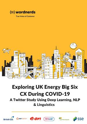 UK Energy CX During COVID-19 study